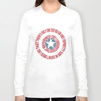 agents of shield Long Sleeve T-shirts featuring Shield by Inbarigami