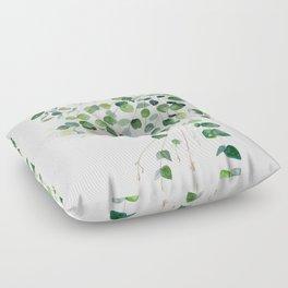 Eucalyptus Watercolor Floor Pillow