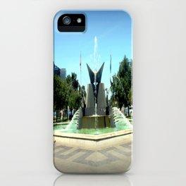 Victoria Square Fountain - Adelaide iPhone Case
