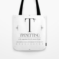 Type Tote Bag