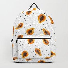 Papaya vibes    watercolor Backpack