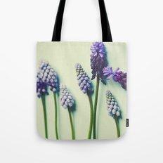 Pretty Blue Flowers Tote Bag