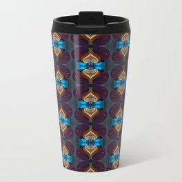 Royal Blue 1 Metal Travel Mug
