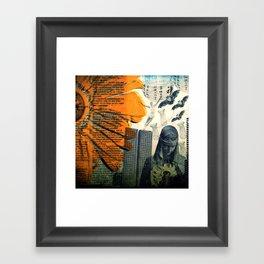 SHE by ZZGLAM Framed Art Print