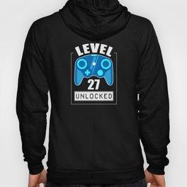 27th Birthday Gamer 27 Years Gaming Gift Hoody