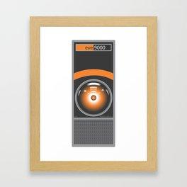 eye 9000 Framed Art Print