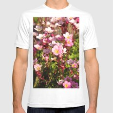 Pretty In Pink Mens Fitted Tee MEDIUM White
