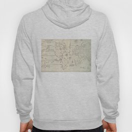 Vintage Map of The World Whaling Grounds (1880) Hoody