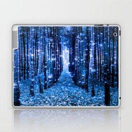 Magical Forest Bluest Blue Laptop & iPad Skin
