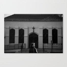 Facing Faith Canvas Print