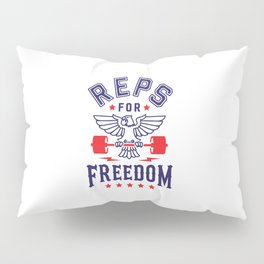 Reps For Freedom Pillow Sham