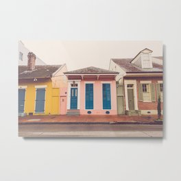 French Quarter Colors x New Orleans Photography Metal Print
