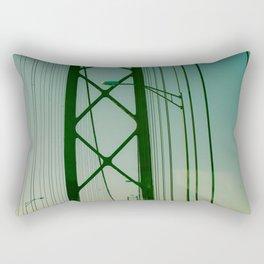 Pont du 25 avril, Lisbon Rectangular Pillow