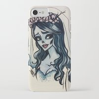 emily rickard iPhone & iPod Cases featuring Emily by Ayesha Khan
