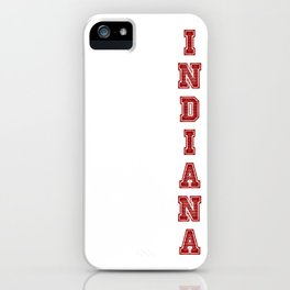 Indiana iPhone Case