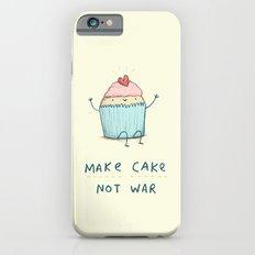 Make Cake Not War iPhone 6s Slim Case