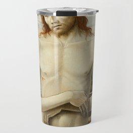 Imago Pietatis by Giovanni Bellini Travel Mug