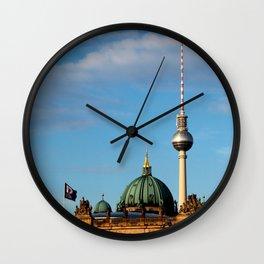 Bus ride Wall Clock