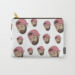 Drake Crying Meme Print - Hip Hop Prints - Crying Drake Carry-All Pouch