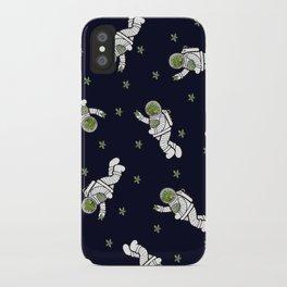 Astro Terrarium Pattern iPhone Case