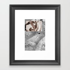 Classic on Modern Framed Art Print