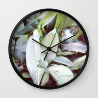 jungle Wall Clocks featuring Jungle by Gabriela Fuente