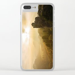 Elbe Sandstone Mountains Clear iPhone Case