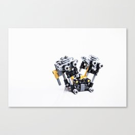 Get Your Motor Runnin' Canvas Print