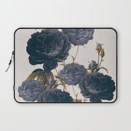 blue flowers Laptop Sleeve