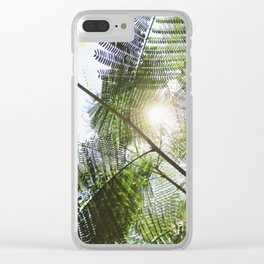 Big Light | Nature Leaves Forest Photo Clear iPhone Case