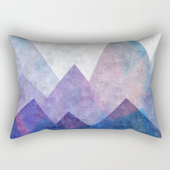 Fresh Peaks Rectangular Pillow