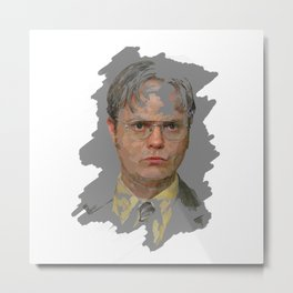 Dwight Schrute, The Office Metal Print