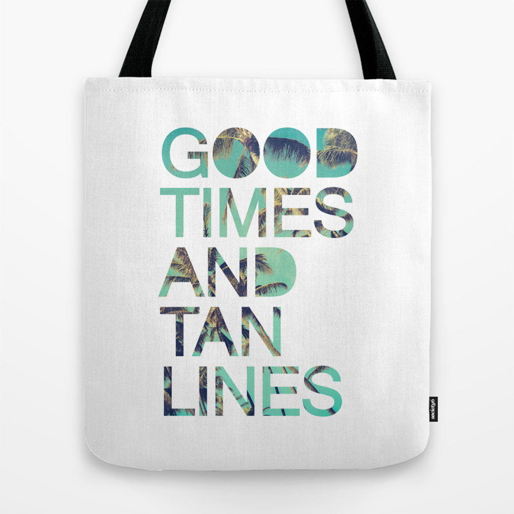 Good Times And Tan Lines Tote Purse by Textboy (TBG3538496) photo