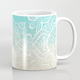 Beach Mandala Coffee Mug