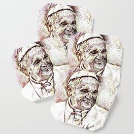 POPE FRANCIS Coaster