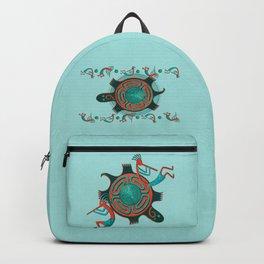 Visitors Anasazi Folk Art Backpack