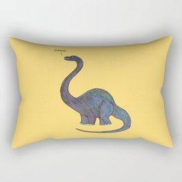 Dang Dino Rectangular Pillow