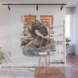 Great Sushi Dragon Wall Mural
