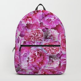 Lovely pink peonies Backpack
