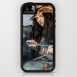 Captain Lena Luthor color version iPhone Case