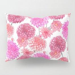 Dahlias in bloom Pillow Sham