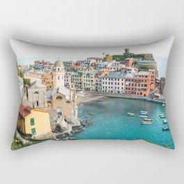 Vernazza, Italy (Landscape) Rectangular Pillow