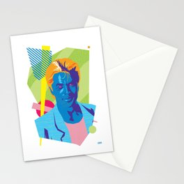 SONNY :: Memphis Design :: Miami Vice Series Stationery Cards