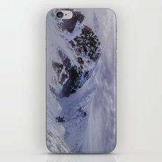 Hiking on top of The World iPhone & iPod Skin
