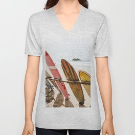 Surfing Day 2 Unisex V-Neck