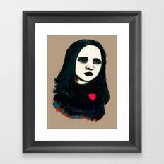 Death Rock Framed Art Print
