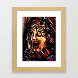 Toothache Framed Art Print