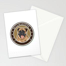 dog breed Bullmastiff Stationery Cards