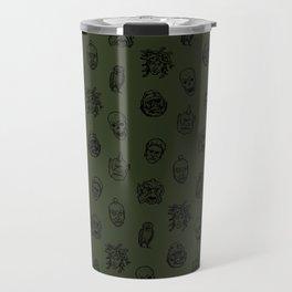 Little Monsters (green) Travel Mug