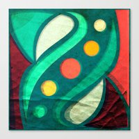 planets Canvas Prints featuring Planets by VessDSign